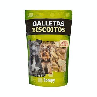 Compy Comida perro snack galleta aroma vainilla adulto Paquete 1 kg