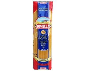 Divella Espaguetis Nº 9, pasta de sémola de trigo duro de calidad superior 500 Gramos