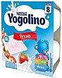 Postre lacteo de fresa estuche 400 g 4x100 g Iogolino Nestlé