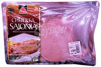 Mrm 2 Cerdo chuleta sajonia (ahumada) fresca filetes Bandeja 500 g peso aprox.