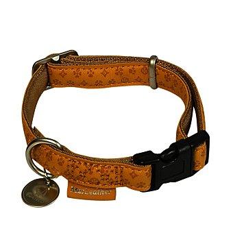 Nayeco Collar para perros Colección Mac Leather Marrón Extragrande