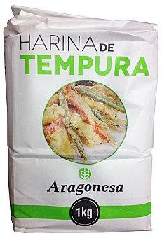 ARAGONESA Harina especial tempura (Rebozado fino y crujiente)  Paquete de 1 kg