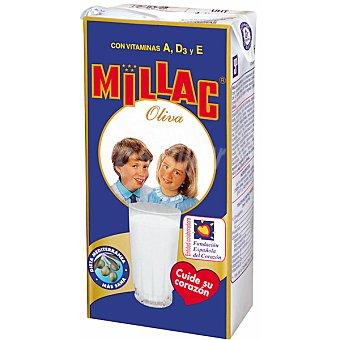 MILLAC leche especial con aceite de oliva  envase 1 l