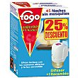 Insecticida volador electrico antimosquitos aparato + recambio precio especial  Fogo