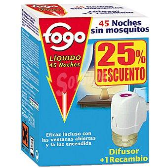Fogo Insecticida volador eléctrico antimosquitos aparato + recambio precio especial