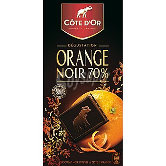 Côte d´Or Negro naranja Tableta 100 g