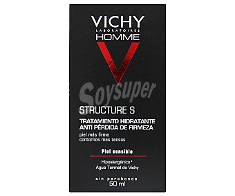 VICHY HOMME Crema tratamiento hidratante, anti pérdida de firmeza 50 Mililitros