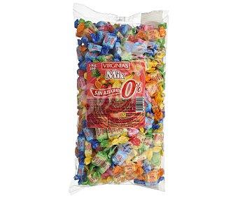 Virginias Caramelos Mix de Sabores Sin Azúcar 1 kilogramo