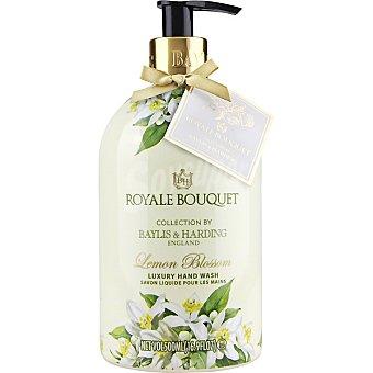 BAYLIS & HARDING Royale Bouquet jabón líquido de manos Limón en flor y Rosa blanca dosificador  500 ml