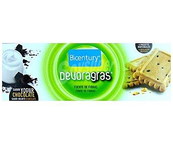 Bicentury Galletas de yogur y chocolate  envase 160 g