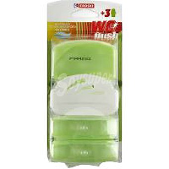 Eroski Limpiador líquido wc odor stop Aparato + 3 recambios