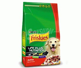 Friskies Purina Comida Seca para Perro Adulto Active 4kg