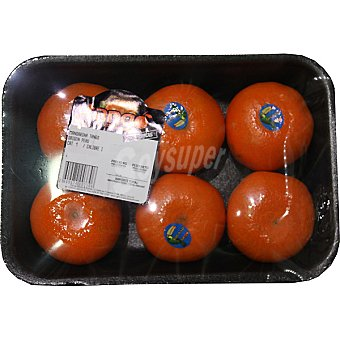 Mandarina Tango sin pepita peso aproximado bandeja 700 g