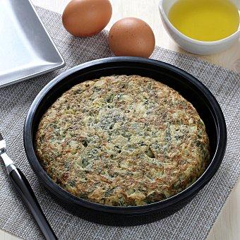 Tortilla fresca con espinacas 600 g