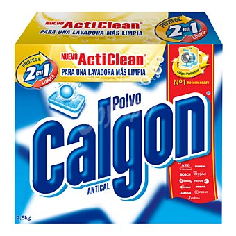 Calgon Antical Lavadora Polvo 2 en 1 2,5 kg
