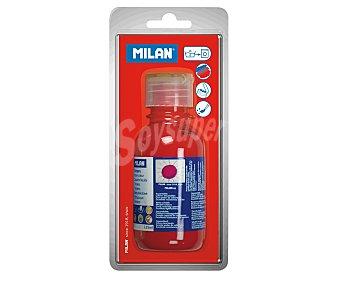 Milan Bote de 125 mililitros de témpera de color rojo bermellón 1 unidad