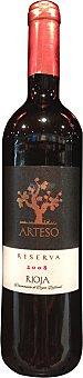 ARTESO Vino tinto Rioja reserva Botella de 75 cl