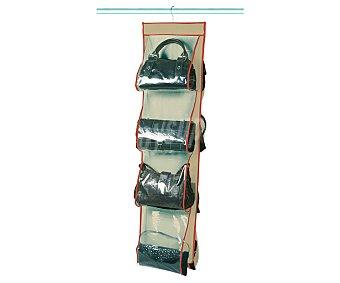 Rayen Percha con colgador de tela con capacidad para 8 bolsos, rayen
