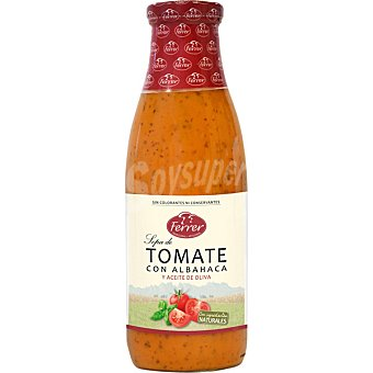 Ferrer Sopa de tomate con basílico Botella 720 ml