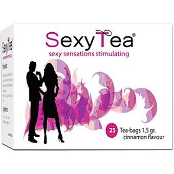 SEXY TEA Infusión sabor canela Envase 25 unidades