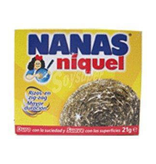 Nanas Niquel Estropajo normal 1 UNI