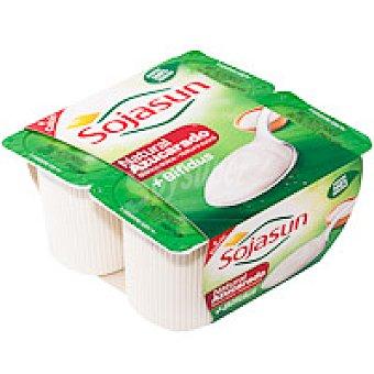 Triballat Sojasun natural azucarado Pack 4x100 g
