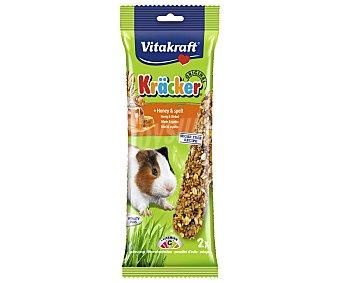 Vitakraft Barritas para cobayacon sabor a miel 2 barritas de 112 gramos