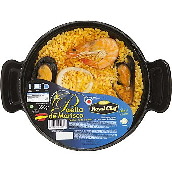 ROYAL CHEF Paella de marisco 1 ración Envase 350 g