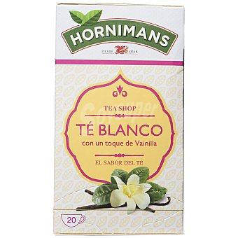 Hornimans Te de la belleza con té blanco 25 ud