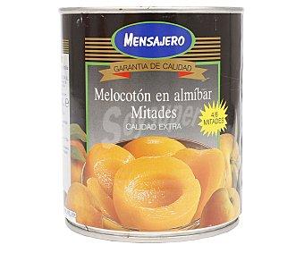 Mensajero Melocotón en almíbar 4/6 mitades 480 gr