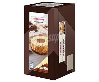 La Menorquina Helado de chocolate y biscuit envuelto con crocant de almendra y base de chocolate 4 x 130 ml