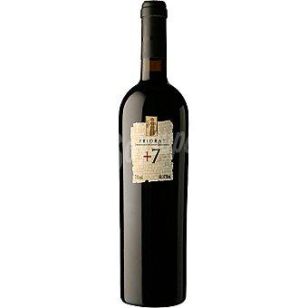+7 Vino tinto ecologico D.O. Priorato botella 75 cl Botella 75 cl