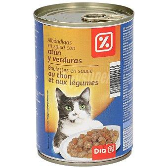 DIA Alimento para gatos albondigas atun verdura Lata 400 gr