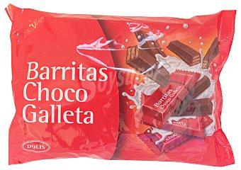 DOLIS Chocolatina barrita mini Paquete 250 g