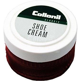 COLLONIL Limpia calzado en crema rojo Tarro 50 ml