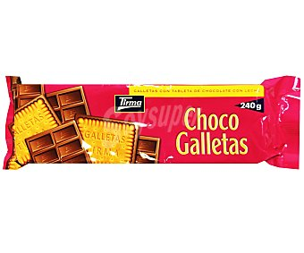 Tirma Galletas de chocolate con leche 240 g