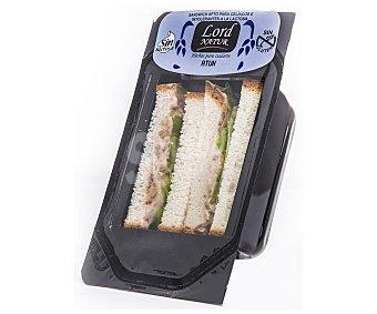 Lord Sandwiches Sandwich de atún sin gluten y sin lactosa 150 gramos