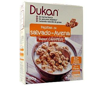 DUKAN Pepitas de salvado de avena sabor caramelo 350 gramos