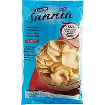 Eroski Sannia Patatas chips light Bolsa 150 g