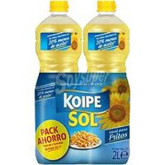 Koipesol Aceite de girasol Pack 2x1 litro