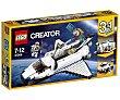 Juego de construcciones 3 en 1 con 285 piezas Lanzadera espacial, Creator 31066 lego  LEGO