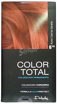 Deliplus Tinte coloracion permanente Nº 06.43 rubio cobrizo dorado u