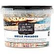 Sal y especias para condimentar pescado cocinado a la Grillé o barbacoa tarrina 60 g tarrina 60 g Fossil River