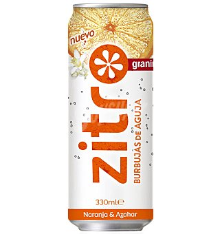 Zitro Refresco naranja&azahar 33 CL