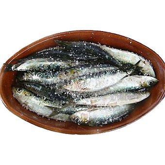 Sardinas gordas con sal Al peso 1 kg