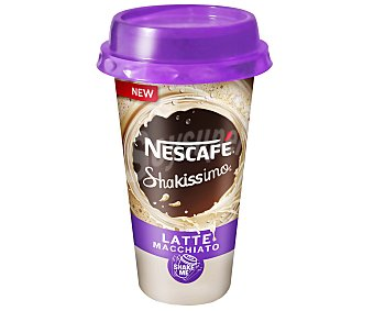 Nescafé Café macchiato Shakissimo envase 190 ml