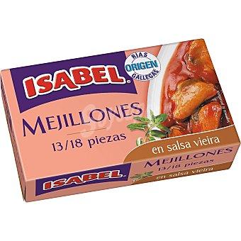 Isabel Mejillones salsa vieira Lata de 69 g