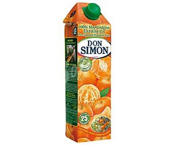 Don Simón Zumo exprimido de mandarina Brick de 1 litro