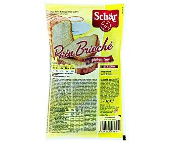 Schär Pan Brioche Sin Gluten 370 Gramos