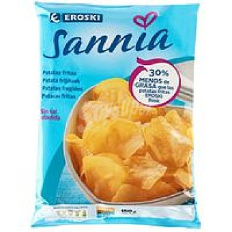 Eroski Sannia Patatas fritas menos grasa Bolsa 150 g